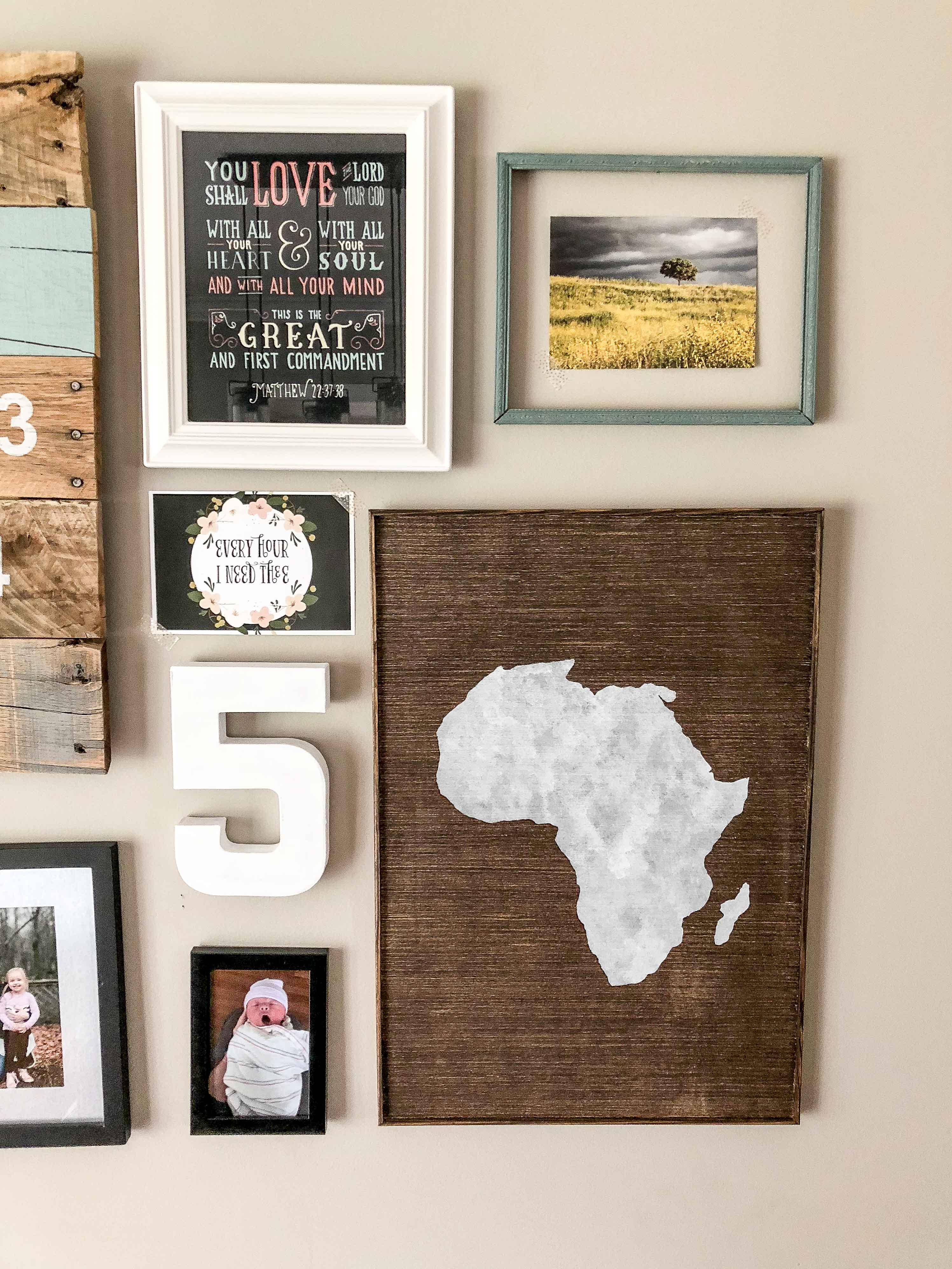 & Large Framed Wood Print Art Collection | Field Treasure Designs