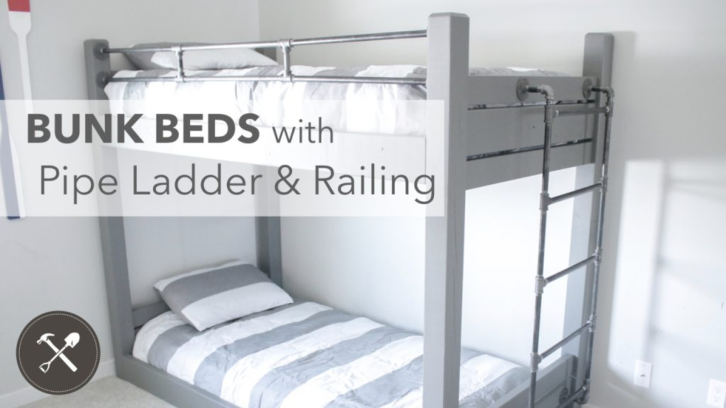 DIY Bunk Bed with pipe