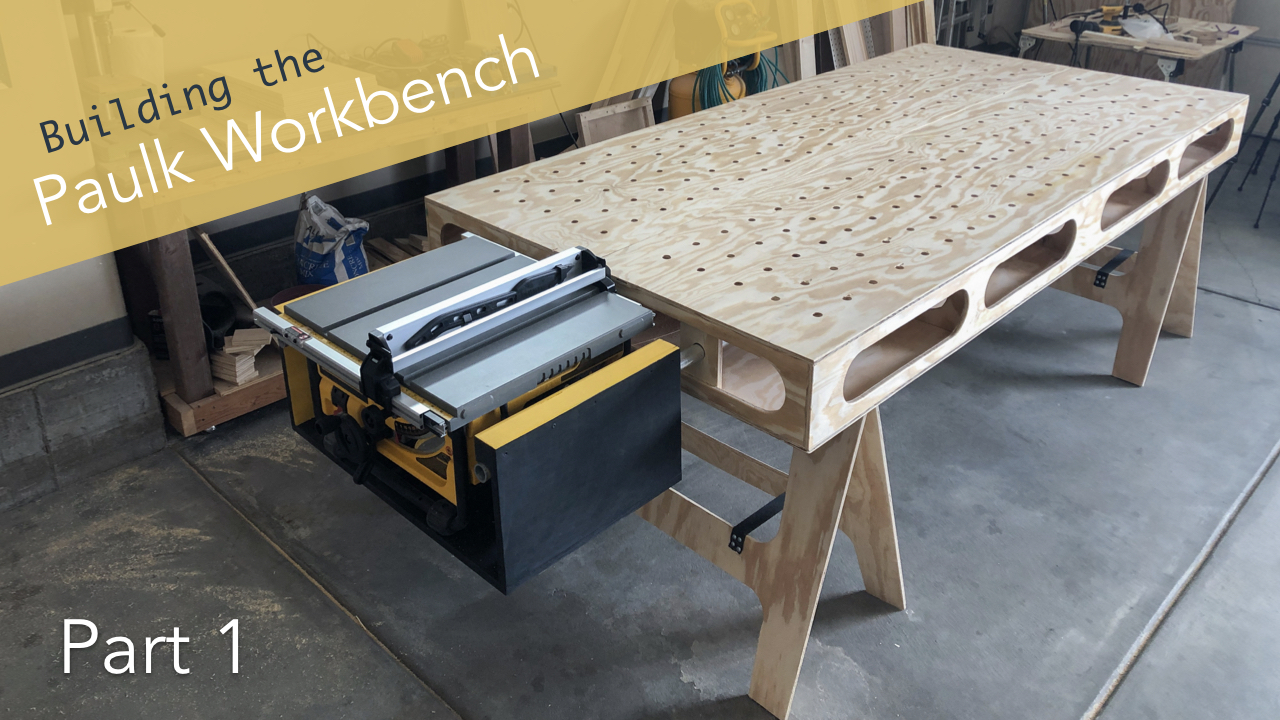 Marvelous Building The Paulk Workbench Part 1 Main Cuts Saw Dailytribune Chair Design For Home Dailytribuneorg