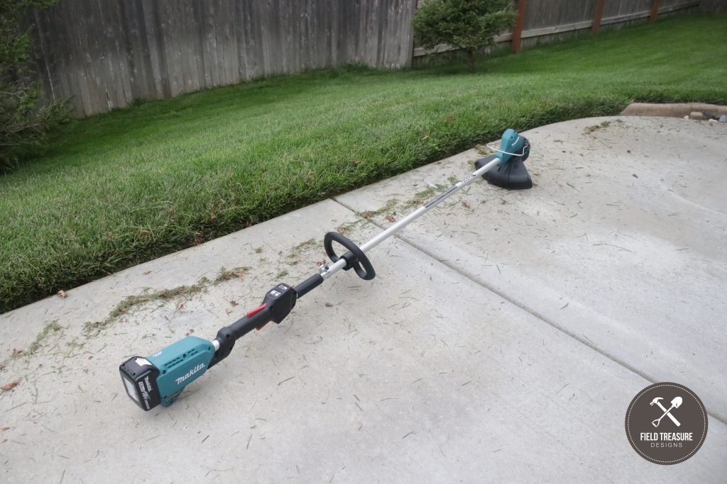 MAKITA 18V Brushless Cordless String Trimmer Field Treasure Designs 3