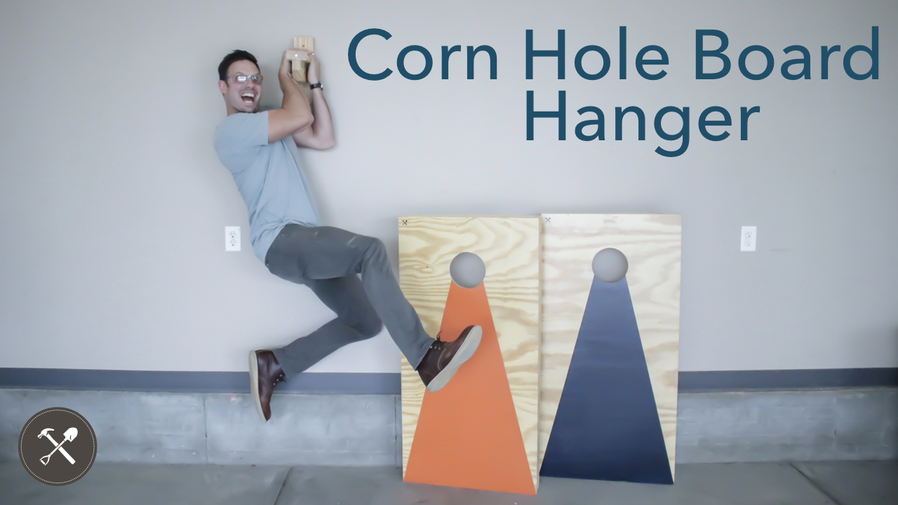 DIY Corn Hole Hanger Field Treasure Designs