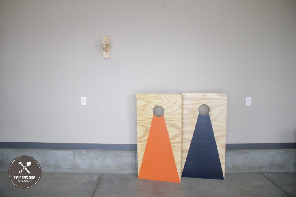 DIY Corn Hole Hanger Field Treasure Designs