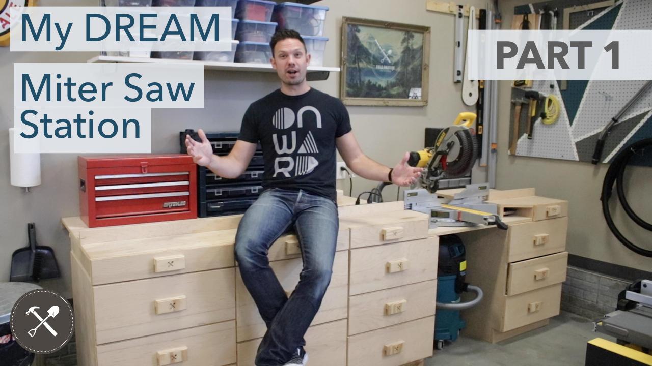 Dream Miter Saw Station Field Treasure Designs