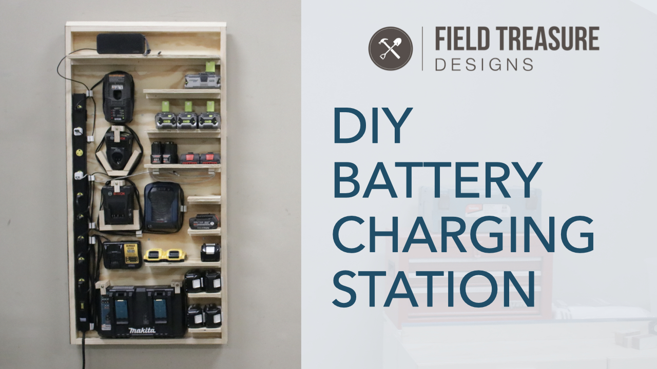 DIY Battery Charging Station