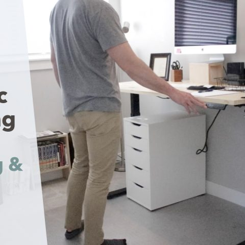 Electric Standing Desk Frame Unboxing, Set Up & Review