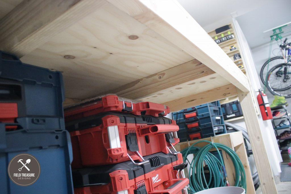DIY Garage Workbench