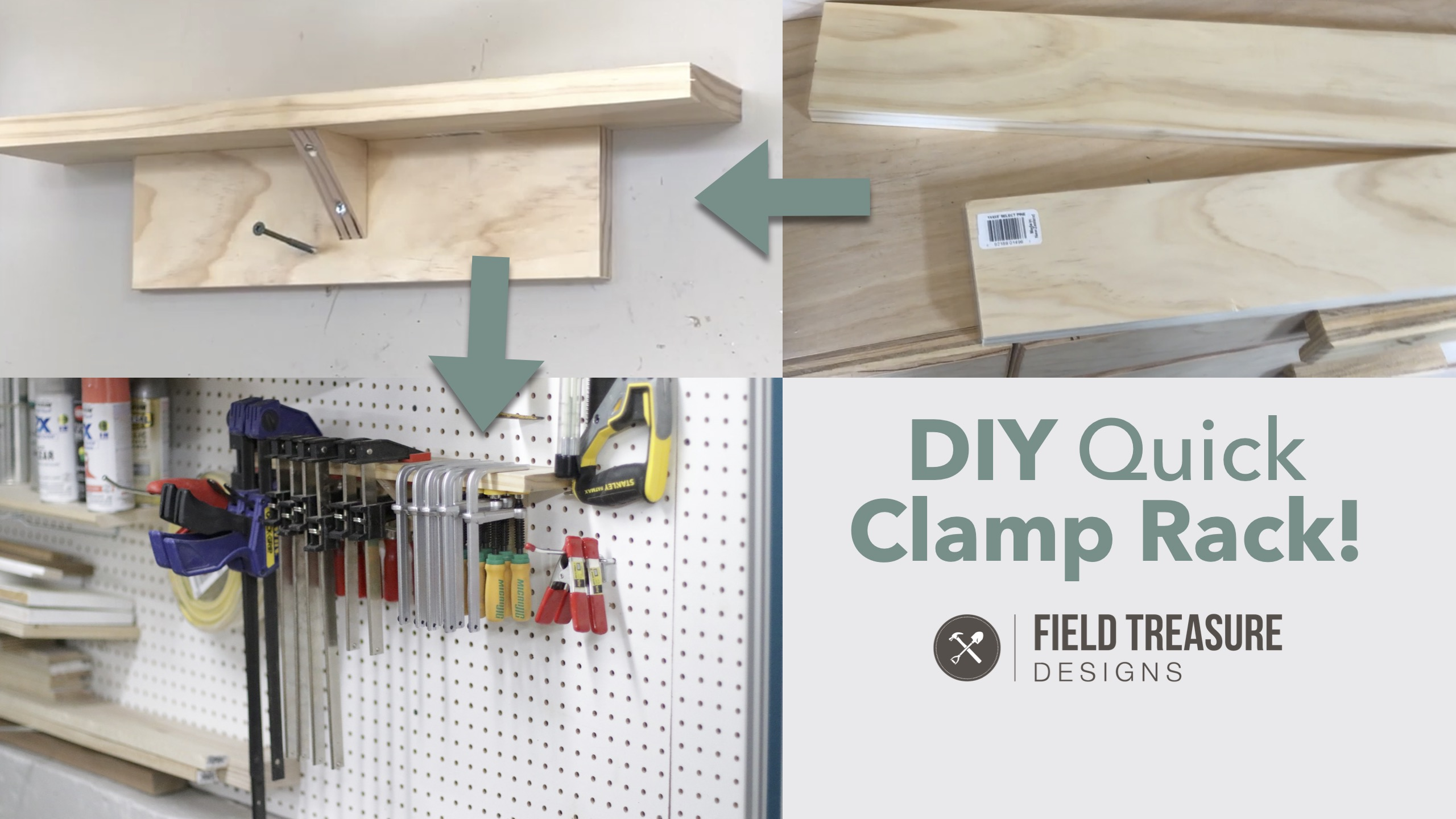 DIY Quick Clamp Rack