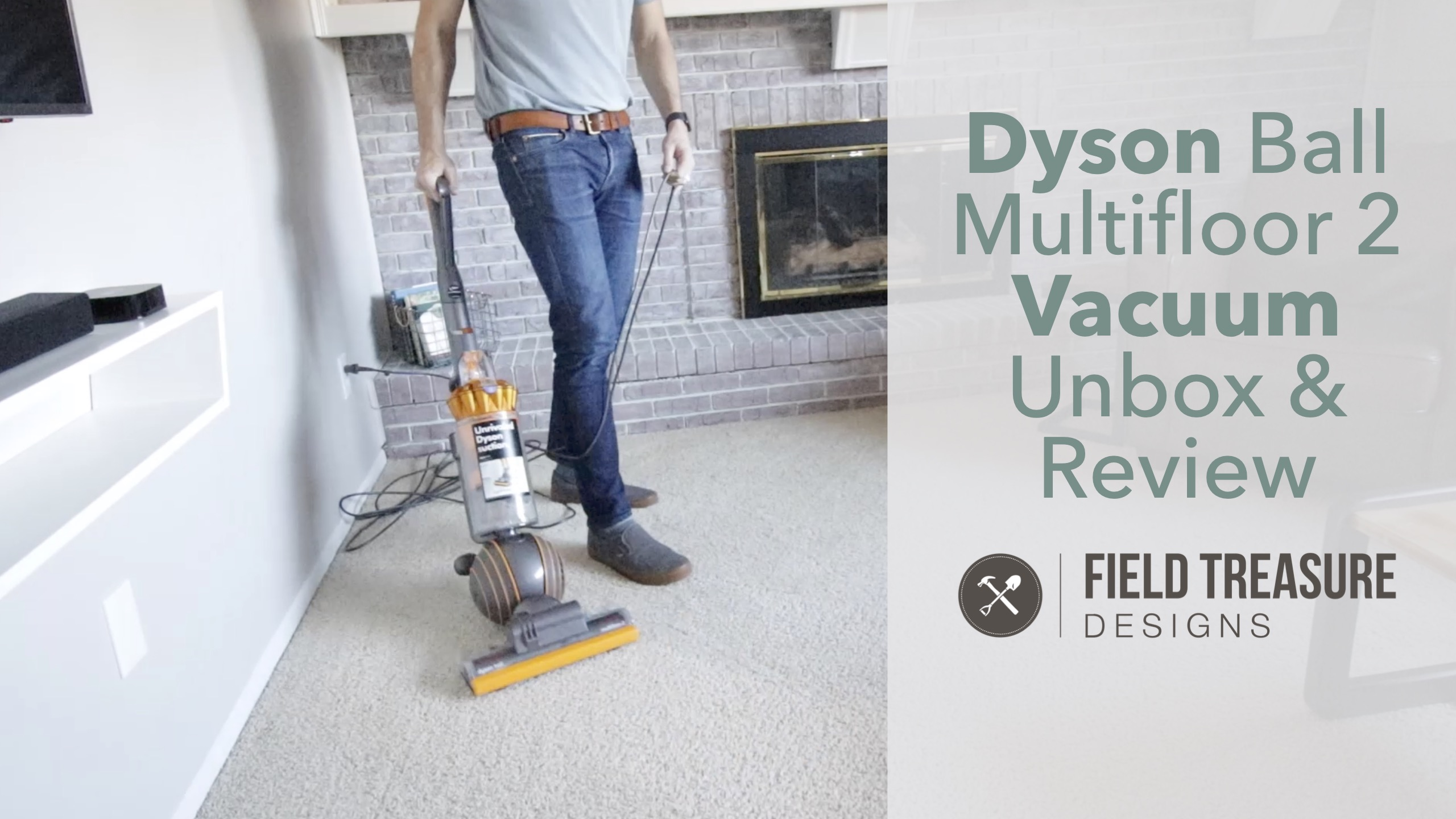 Dyson Ball Multifloor 2 Vacuum Unbox & Review