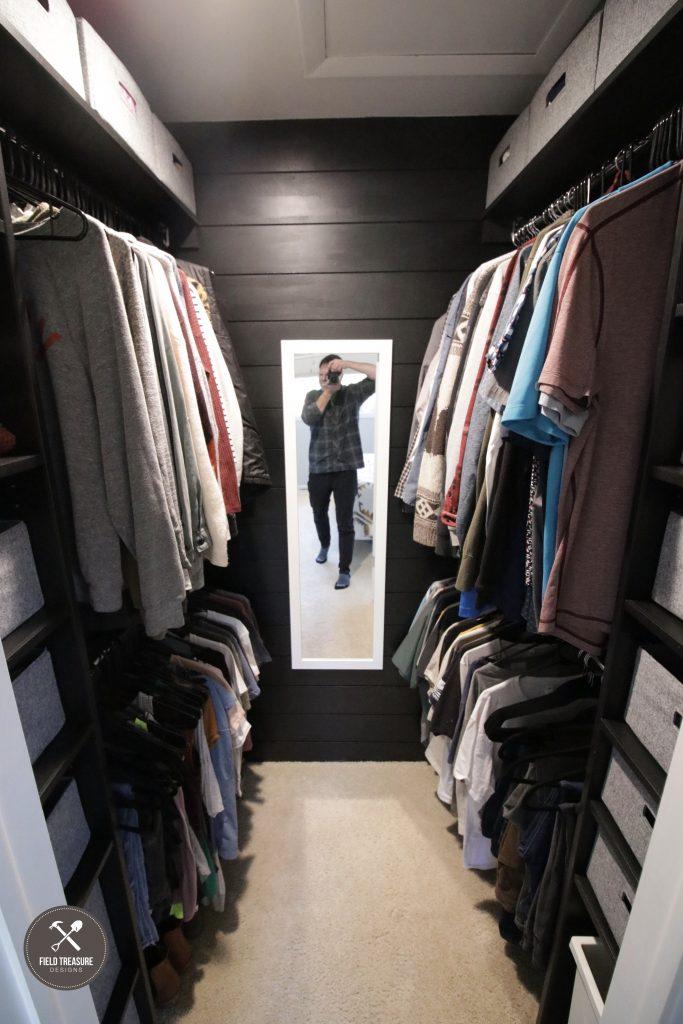 Small Master Closet Remodel