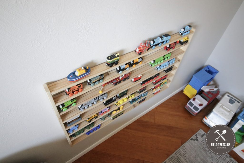 DIY Thomas Wooden Train Wall Rack