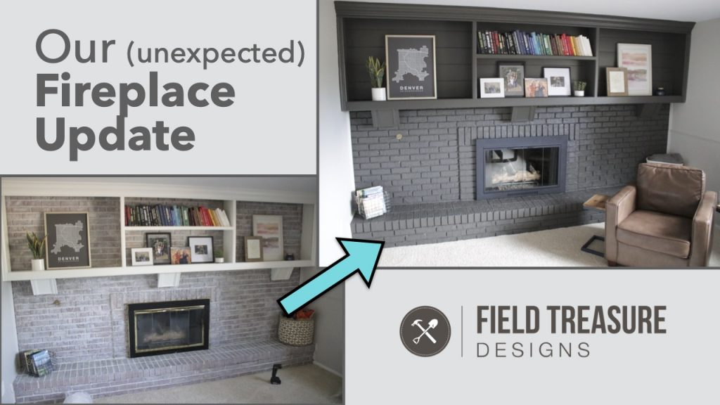 Our Fireplace Update