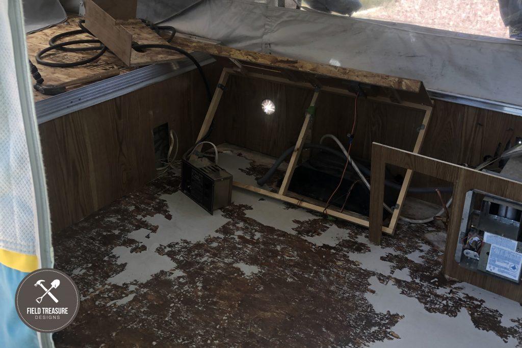 Pop Up Camper Remodel Part 1