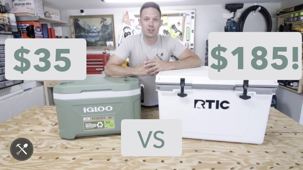 RTIC vs IGLOO Cooler
